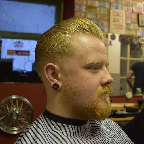 razor fade mens haircut