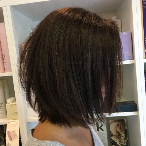A Desirable Shoulder Length Razor Cut Bob