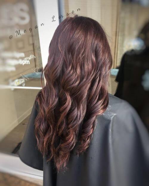 Red Violet Burgundy