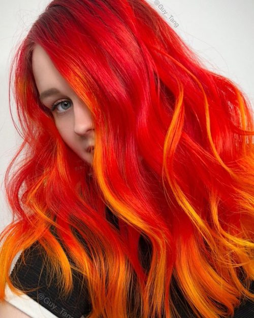 16 Stunning Bright Red Hair Colors To Get You Inspired