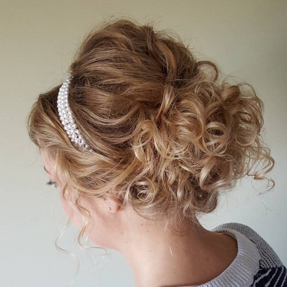 hair updo styles 37 curly updos for curly hair see these ideas for 2018 3909