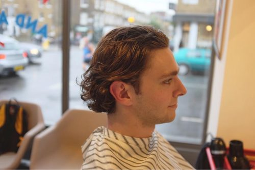 Relaxed But Groomed hairstyle