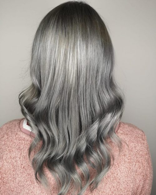 The 14 Coolest Grey Ombre Hair Ideas for 2019