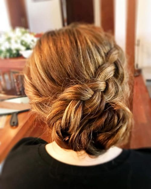 Reverse French Braid hairstyle