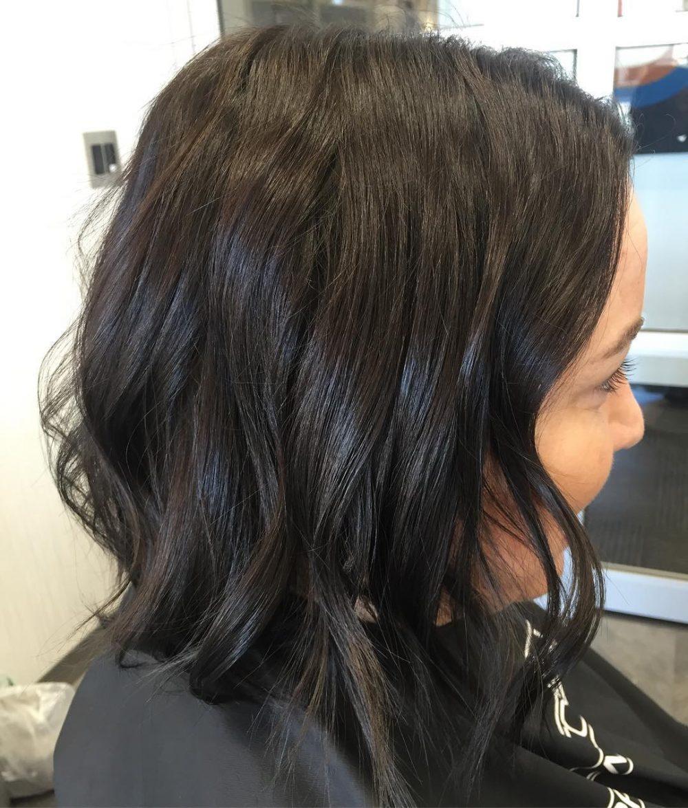 Rich Dark Brown hairstyle