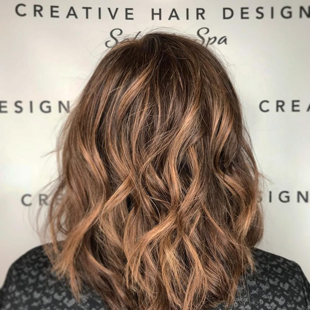 Rich Fall Brown hairstyle