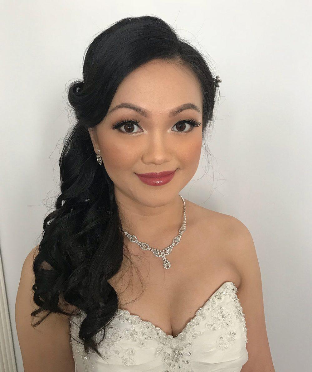 Romantic & Elegant hairstyle