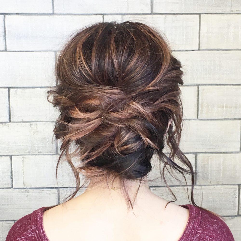 Romantic & Modern hairstyle