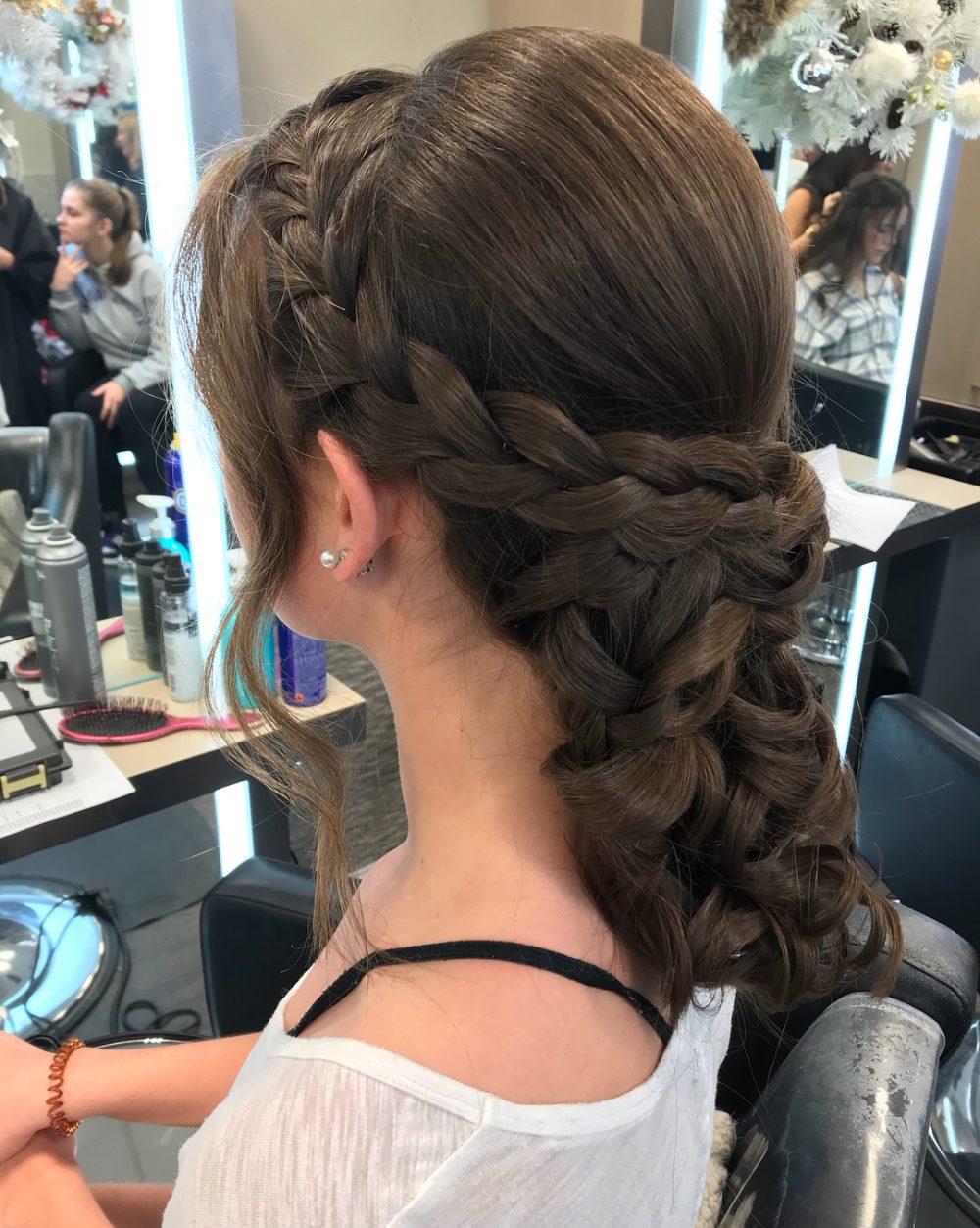 Romantic Braid hairstyle