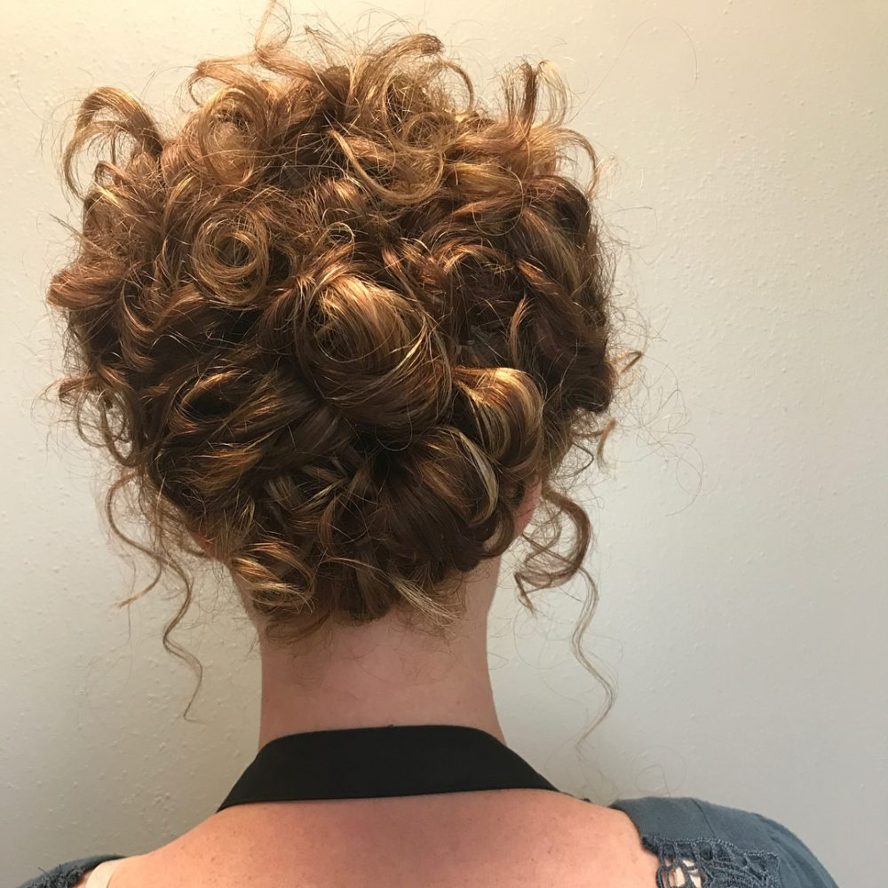 Romantic Chic Updo hairstyle