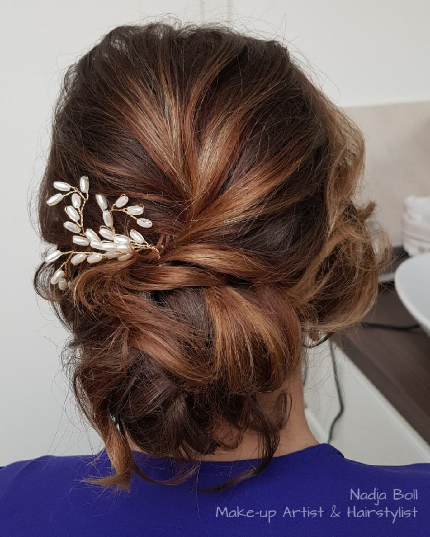 Wonderful Romantic Loose Updo. Romantic Loose Updo Hairstyle