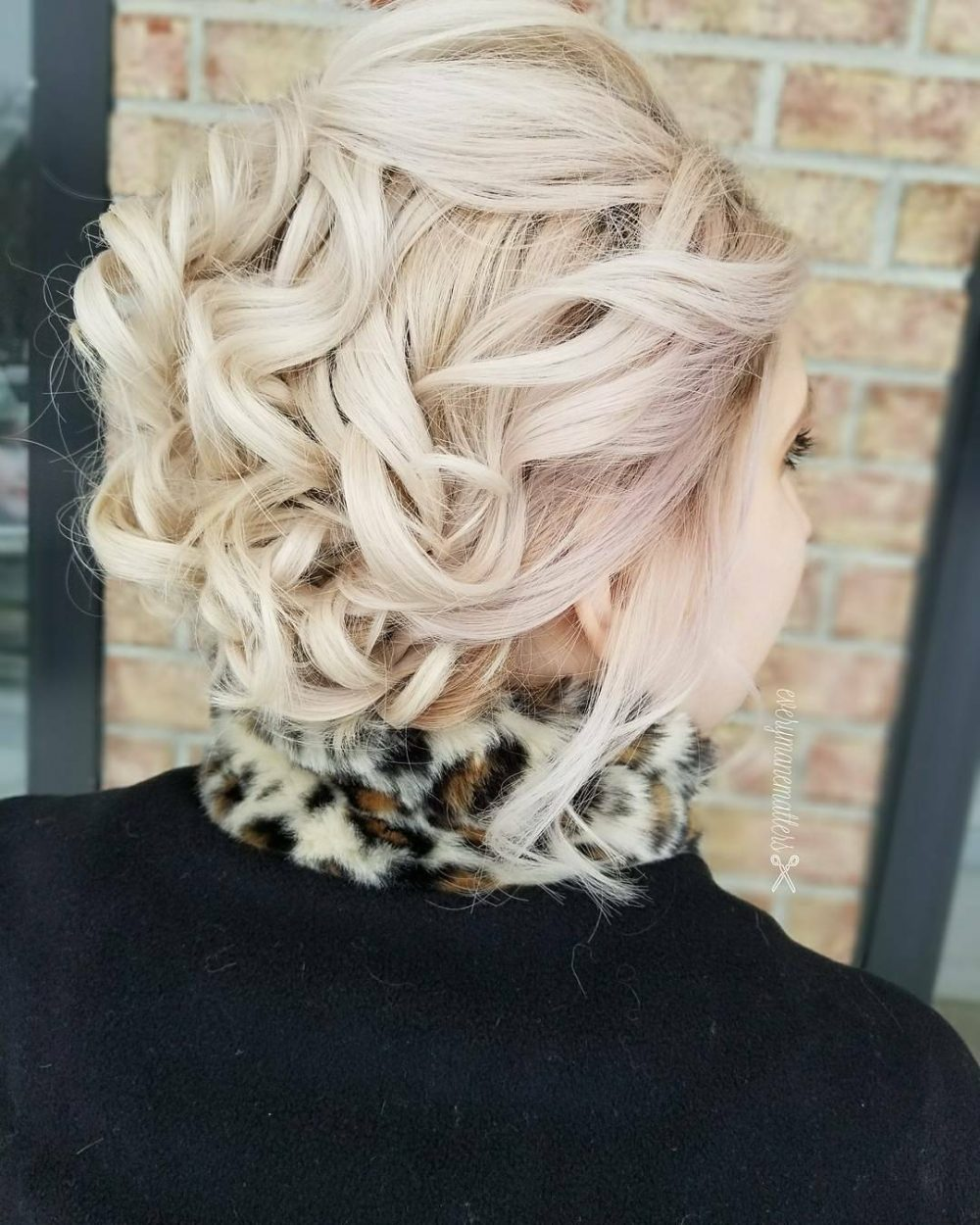 Romantic Upstyle hairstyle