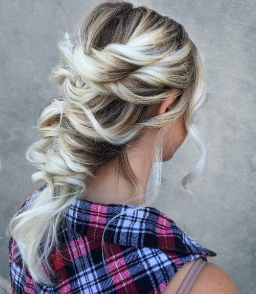 Romantic Braid hairstyle
