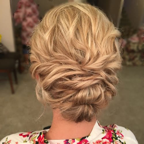 Romantic Updo hairstyle