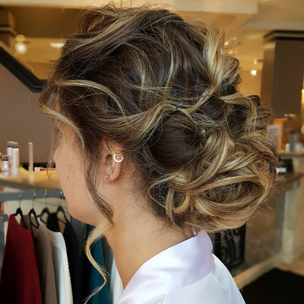 Romantically Chic hairstyle