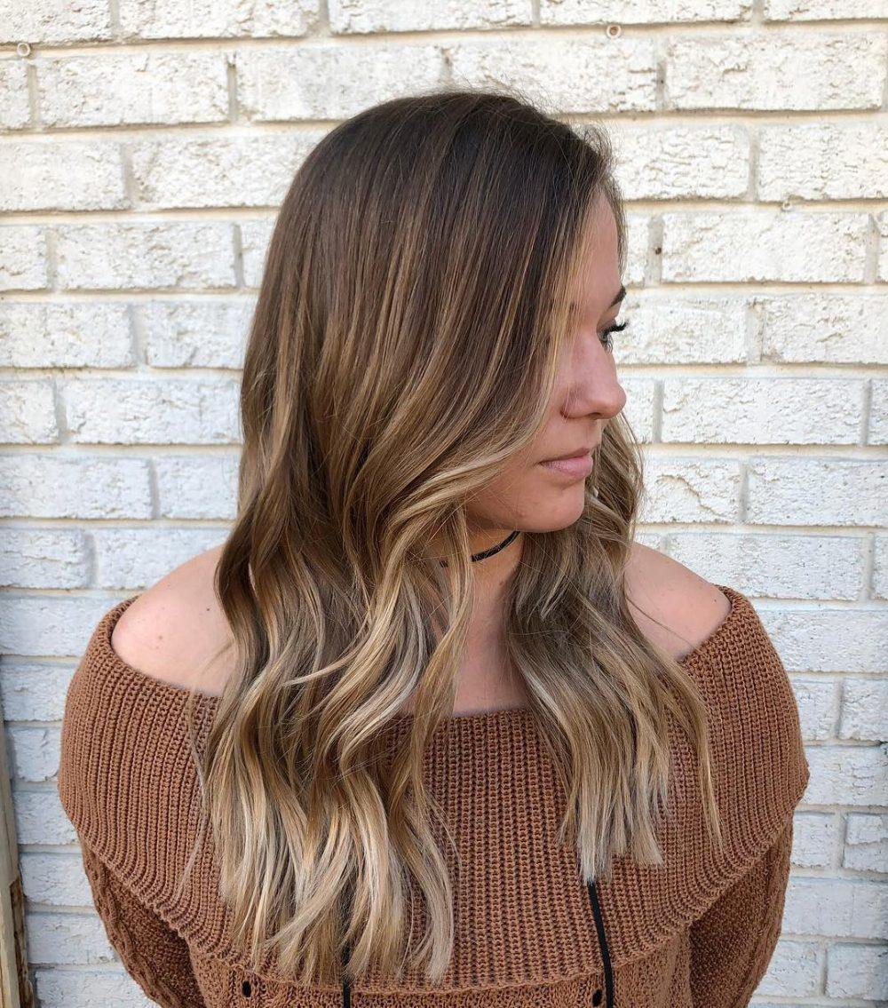 Rooty Cool Balayage hairstyle