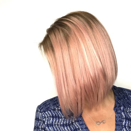 Picture of a rosy bob a simple hairstyle