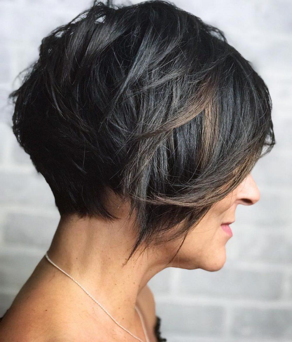 Sassy Layered Pixie hairstyle