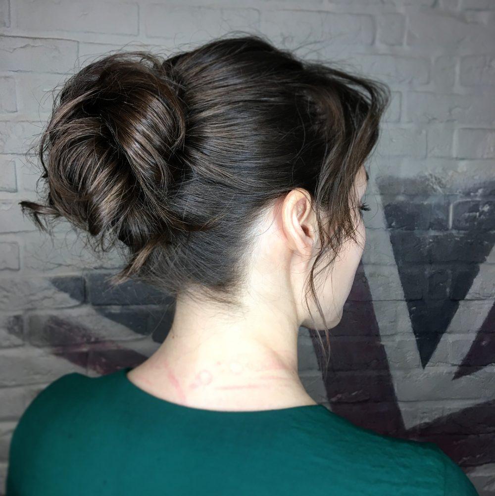 Sassy Messy Bun hairstyle