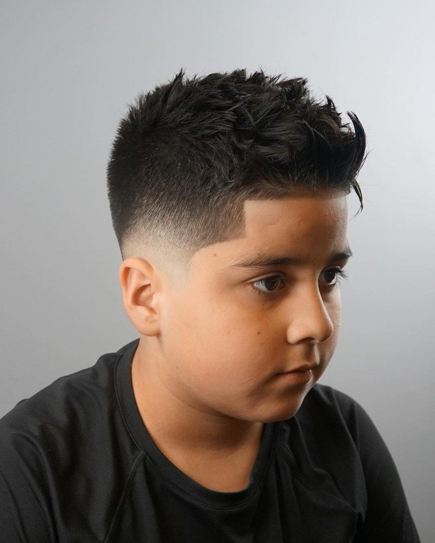 School ready boys haircut