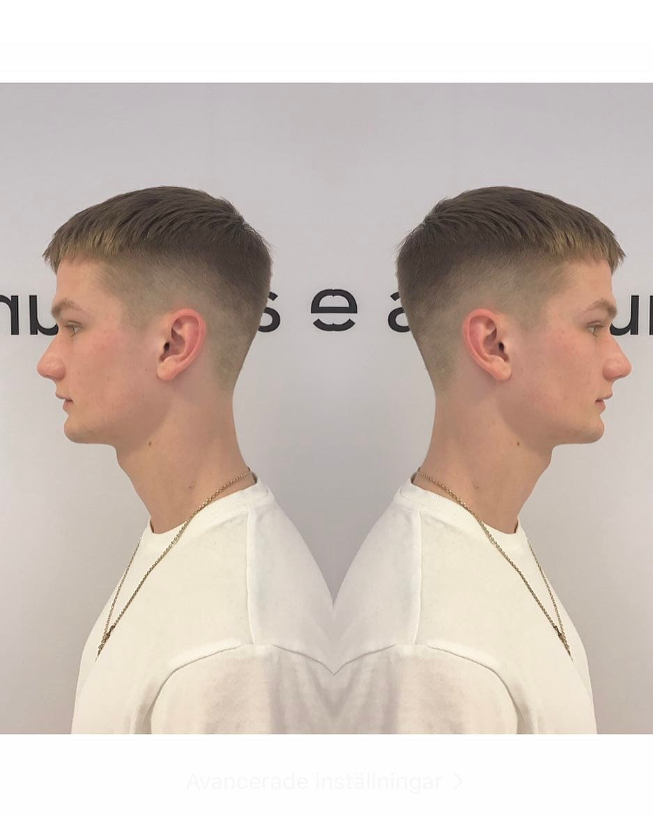 Scissor Over Comb Cut hairstyle