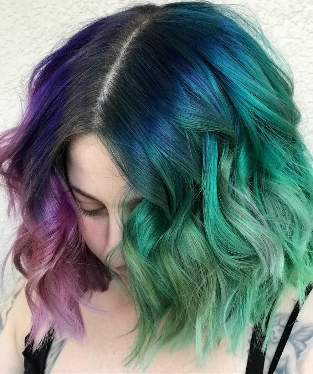 Seamless Muted Tones hairstyle