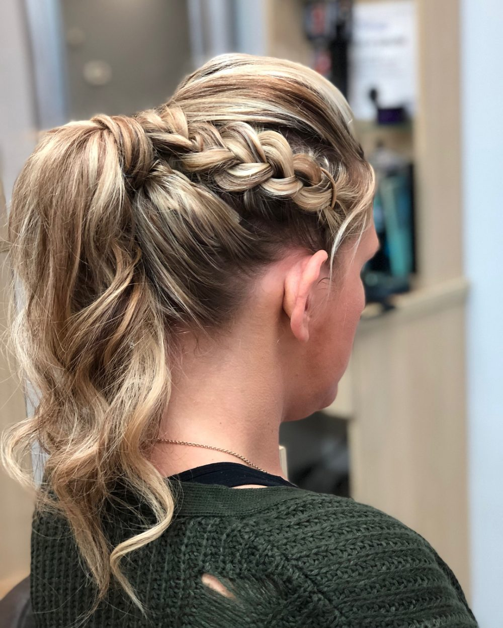 Sexy Braided Pony hairstyle