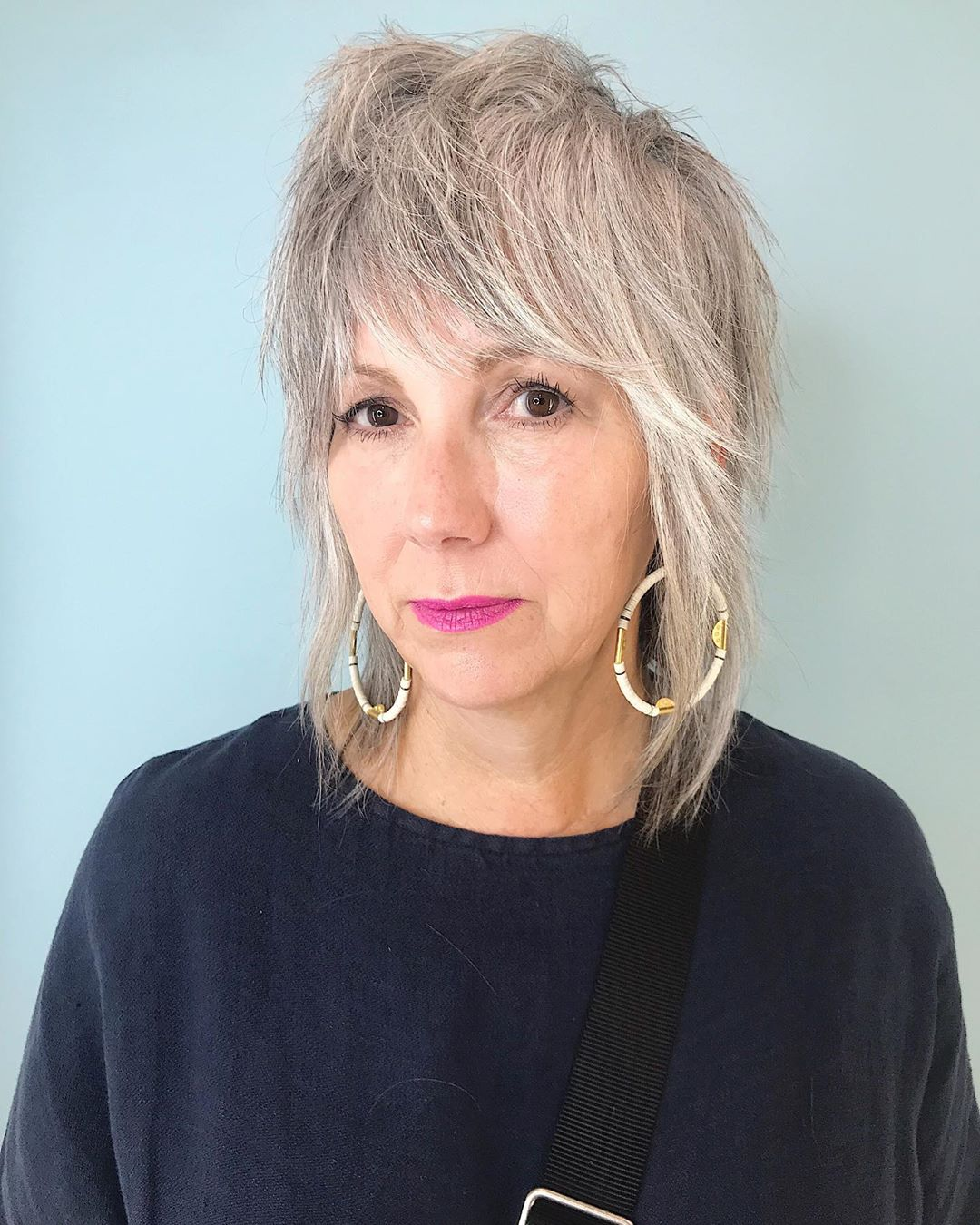 Long Shaggy Hairstyles For Fine Hair Over 50 - 60 ...