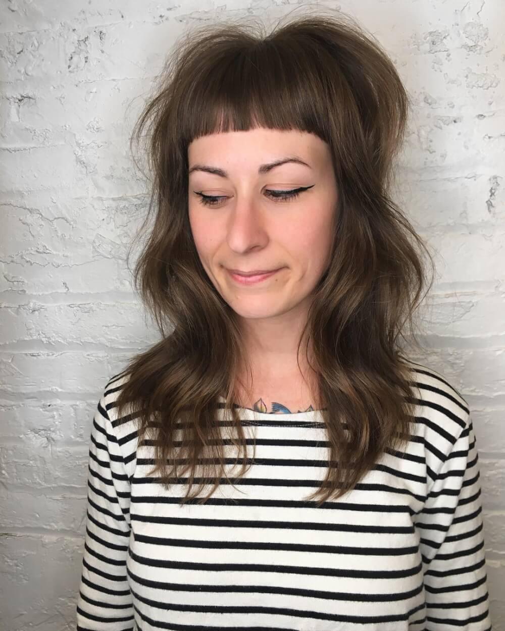 Modern Shag hairstyle
