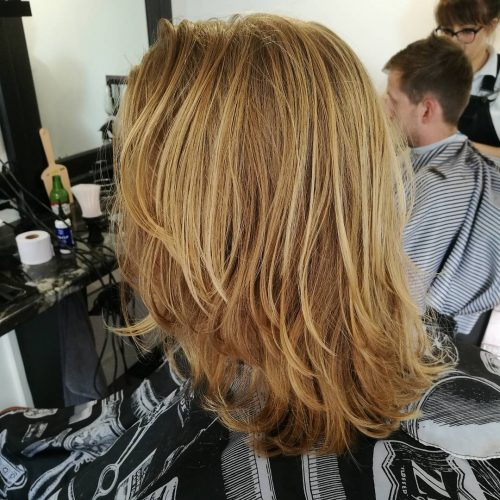 Shaggy Surfer Look hairstyle