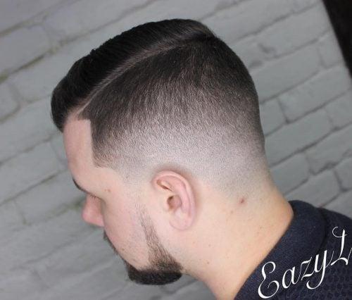 Picture of a sharp taper fade