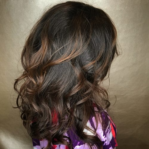 Shiny Bouncy Layers hairstyle