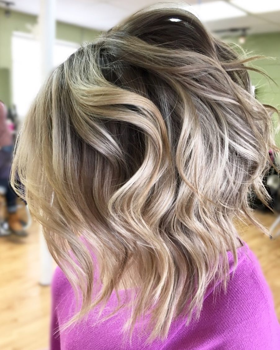 Short & Shattered Bob hairstyle