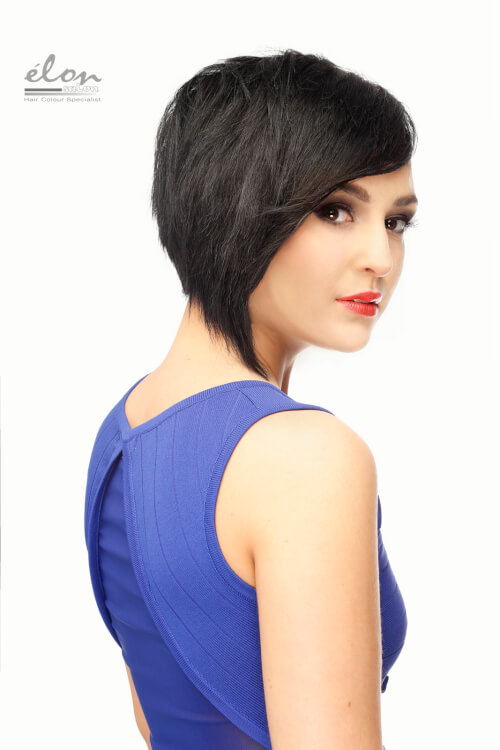 short-black-hair