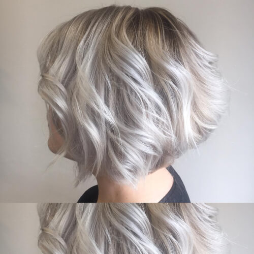 Pearly Blonde hairstyle