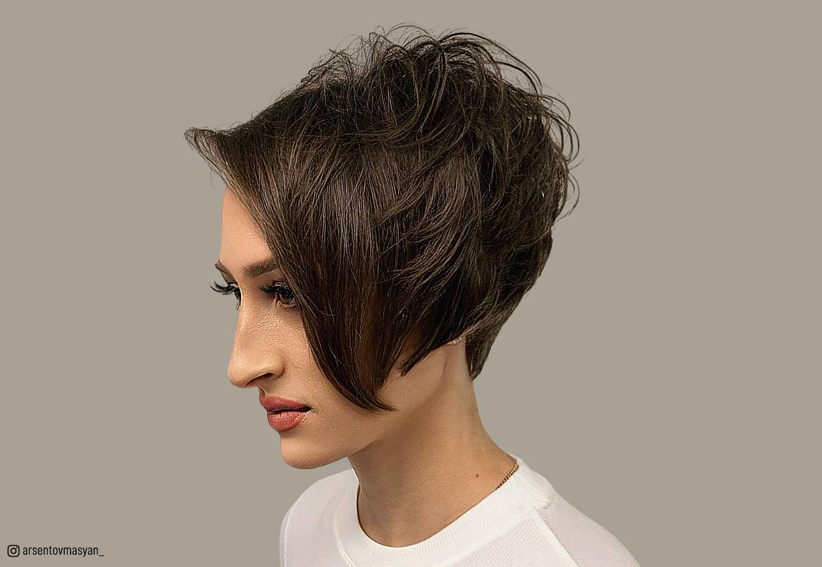 18 Best Short Dark Hair Color Ideas Of 2019