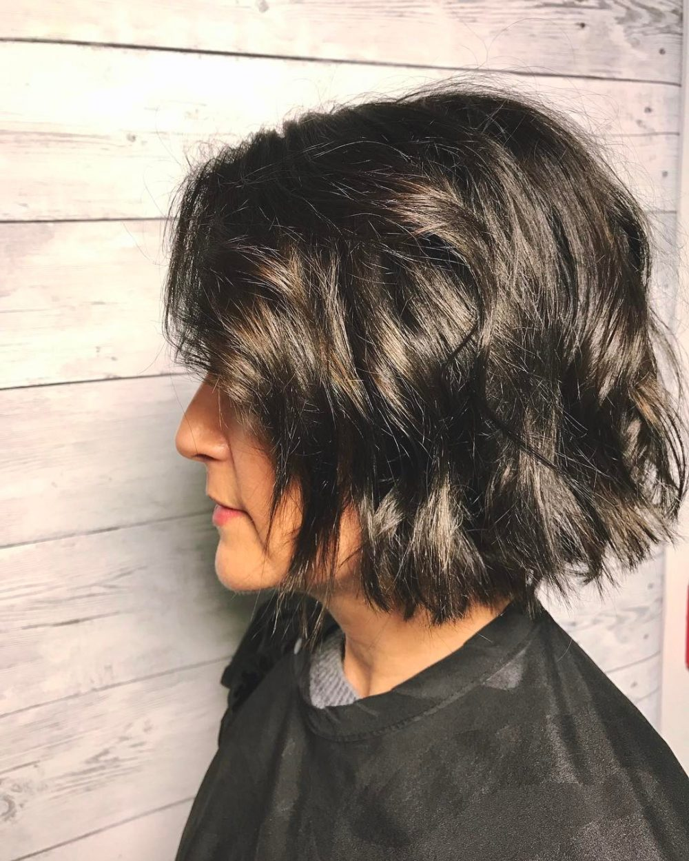 styling neck length hair 23 cutest chin length hairstyles trending for 2018 7056