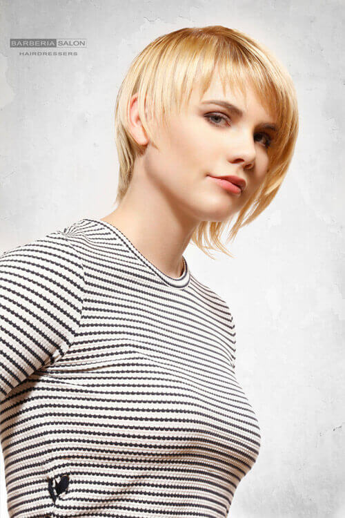 Confirm. Cute girl short haircut nude thought