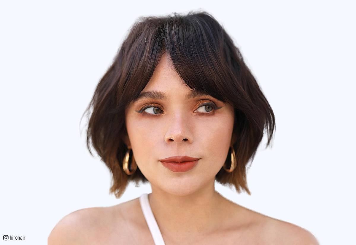 26 Flattering Short Hair With Bangs To Try For 2018
