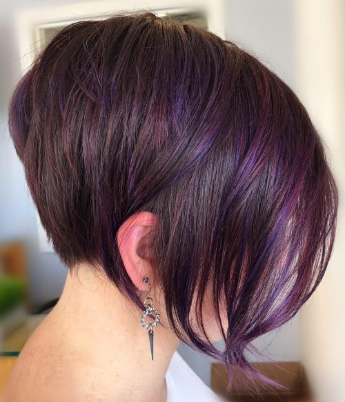 21 Dark Purple Hair Color Ideas Trending In 2020