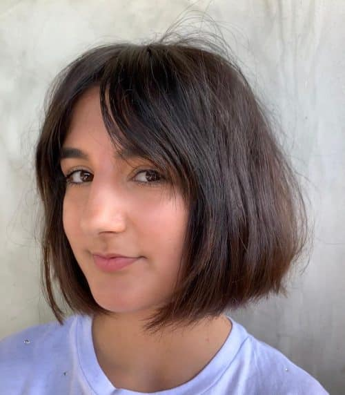 16 Short Hair With Long Bangs Trending In 2021