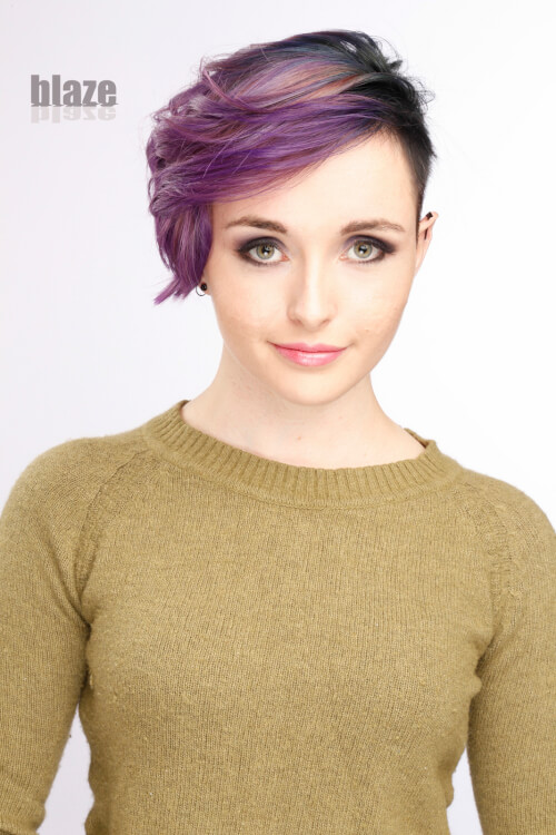 short-hair-with-purple-bangs