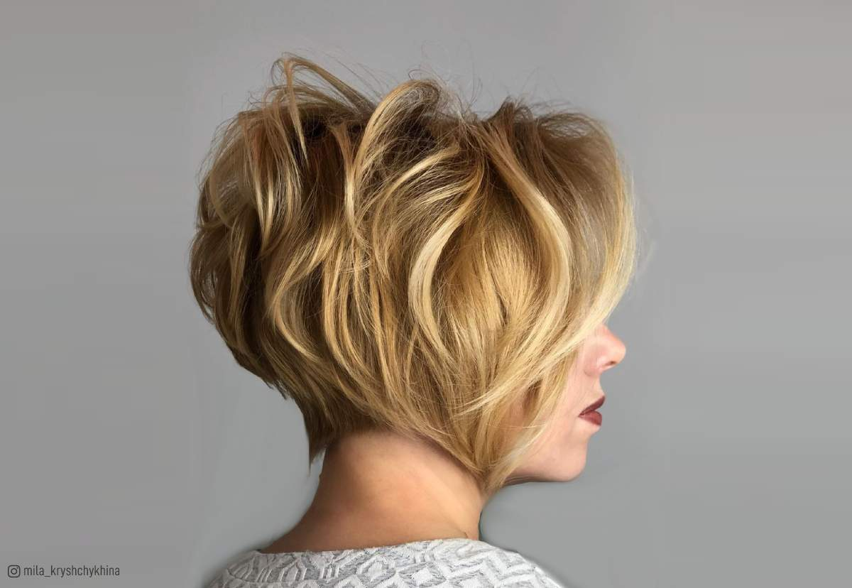 34 Greatest Short Haircuts And Hairstyles For Thick Hair For 2019