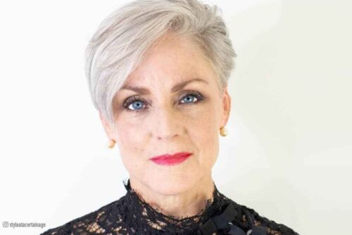 Hottest short haircuts for women over 60