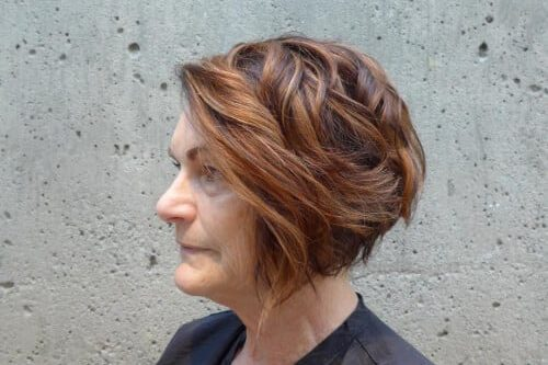 Over 50 Hairstyles curly bob for women over 50 37 Chic Short Hairstyles For Women Over 50