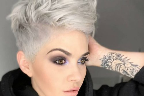 Beautiful short hairstyles for women with thick hair