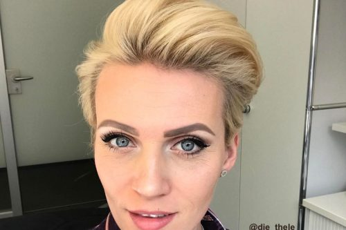The Hottest Short Hairstyles & Haircuts of 2018