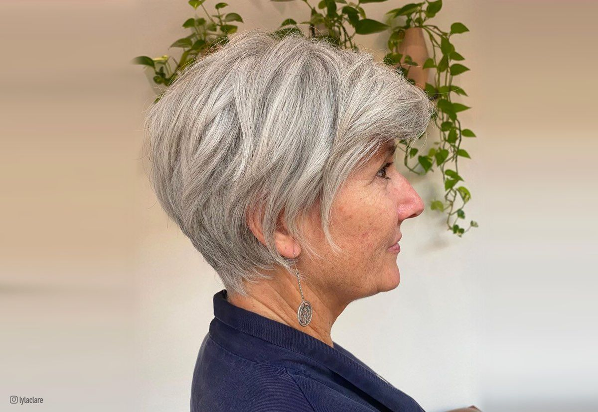 4 Chic Short Hairstyles for Women Over 4 with Fine Hair