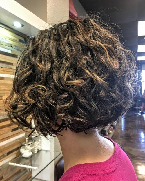layered bobs for curly hair best hair styles 32 sexiest curly hairstyles for in 2018 863