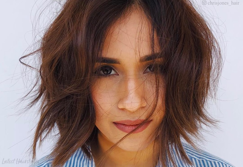 19 Sleek Short Messy Hair Ideas To Try In 2021